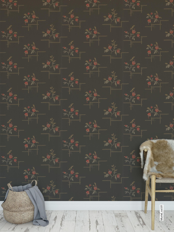 Muriel Col81 von Tapeten Wohnzimmer Vintage Bild