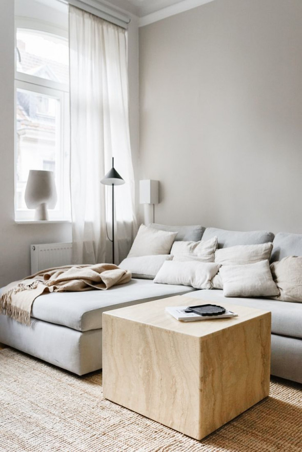 Neue Wandfarbe Im Wohnzimmer Von Alpina Feine Farben von Ideen Wandfarbe Wohnzimmer Photo