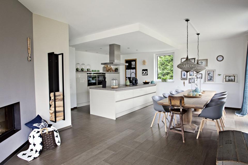 Offene Küchen Ideen  Bilder von Offenes Wohnzimmer Gestalten Bild