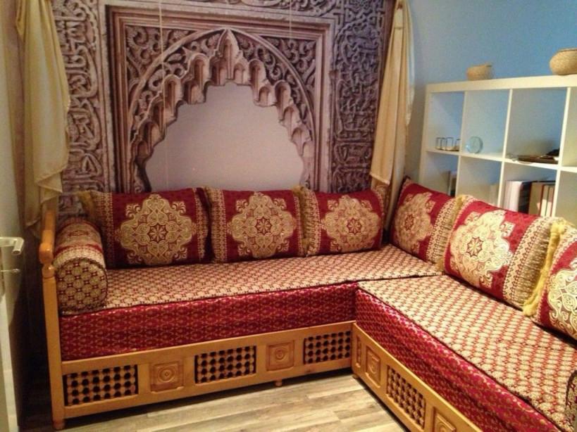 Orientalische Couch  Wohnzimmer Orientalisch Wohnzimmer von Orientalische Deko Wohnzimmer Bild