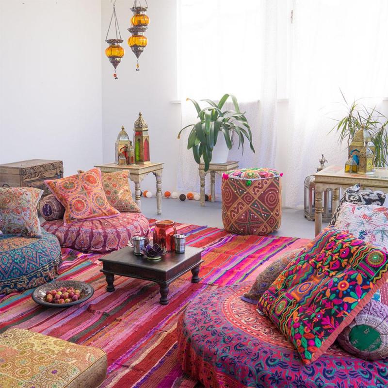 Orientalische Deko • Bilder  Ideen • Couch von Bilder Wohnzimmer Orientalisch Bild