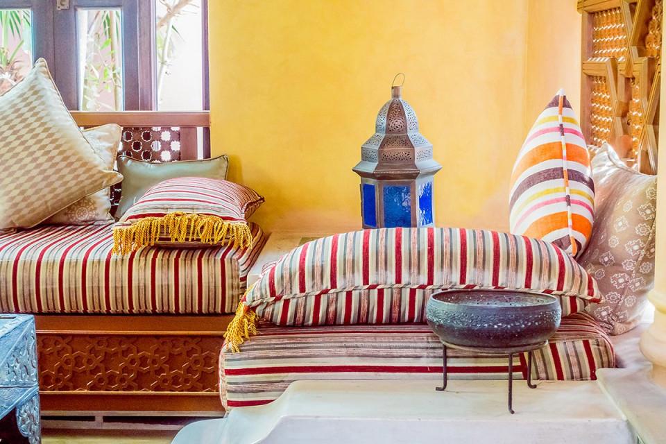 Orientalischer Einrichtungsstil Orientalisches Wohnzimmer von Wohnzimmer Orientalisch Einrichten Bild