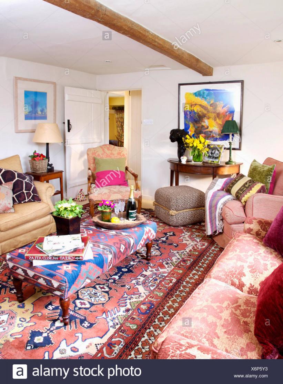 Orientalisches Wohnzimmer Einrichten – Caseconrad von Bilder Wohnzimmer Orientalisch Bild