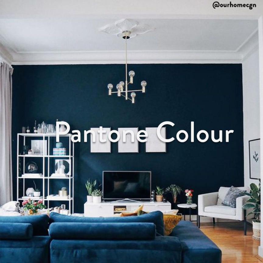 Pantone Farbe 2020  Classic Blue  Westwingnow In 2020 von Blaue Deko Wohnzimmer Bild