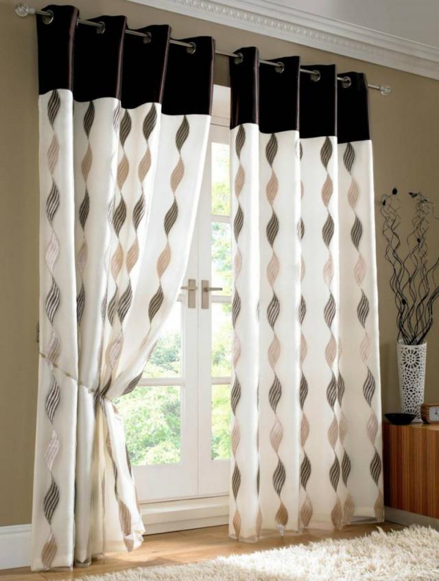 Passende Gardinen Für Das Wohnzimmer Auswählen  20 Schöne Ideen von Gardinen Dekorationsvorschläge Wohnzimmer Bild