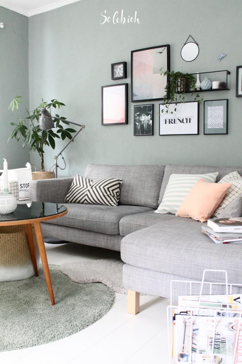 Pin Auf Wohnzimmer – Ideen Für Deko Und Einrichten von Wohnzimmer Grau Grün Deko Bild