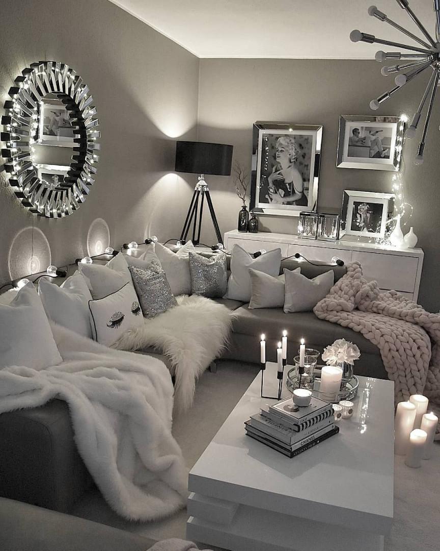 Pin Von Biedermannjudith Auf Schlafzimmer (Mit Bildern von Wohnungseinrichtung Ideen Wohnzimmer Bild