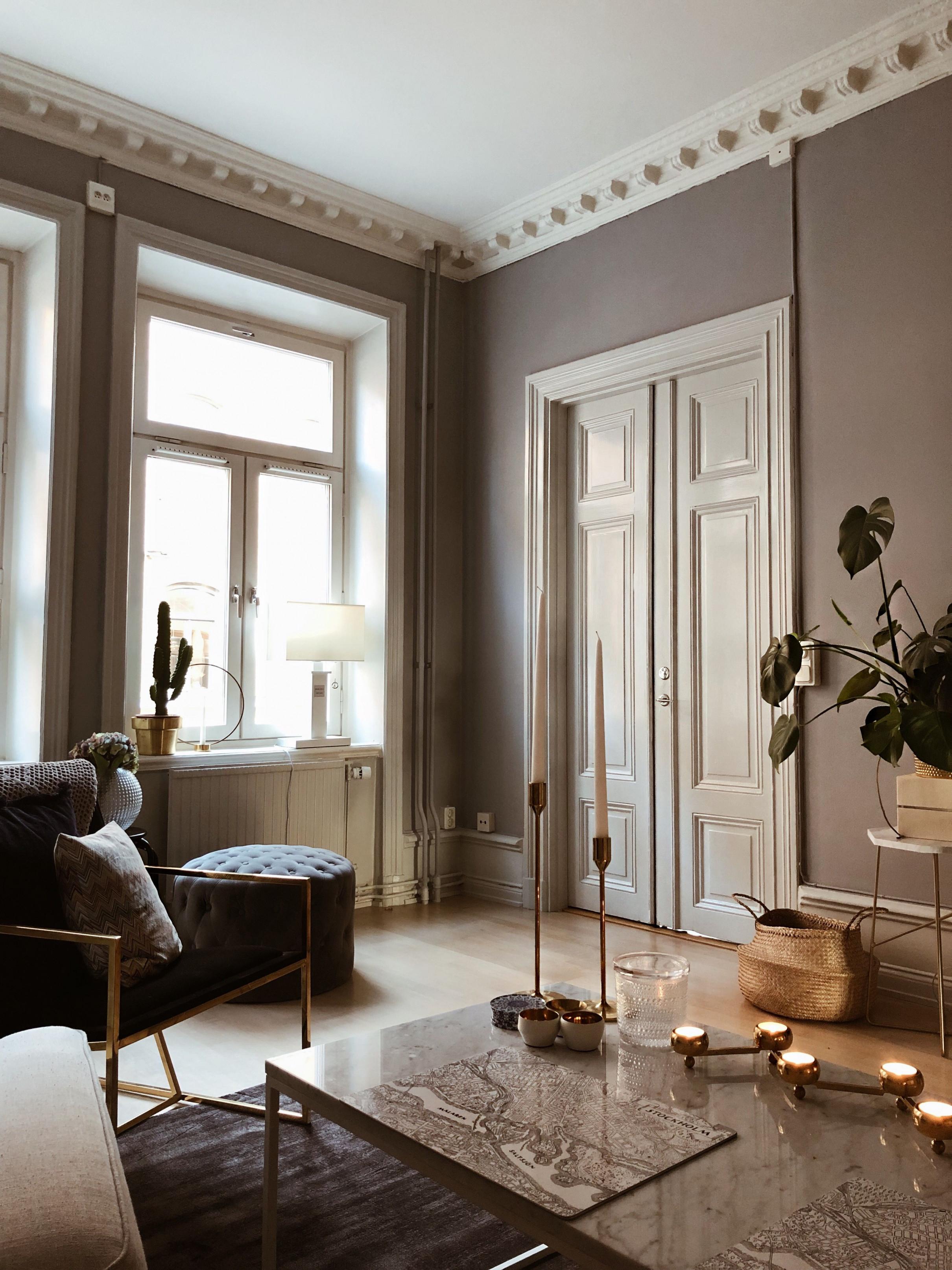 Pinamelie Groß On Vardagsrum  Home Decor House von Wohnzimmer Groß Einrichten Bild