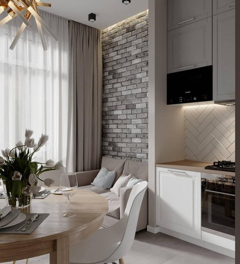 Pinzeynep On Тюльпаны  Small Apartment Design Home von 15 Qm Wohnzimmer Einrichten Bild