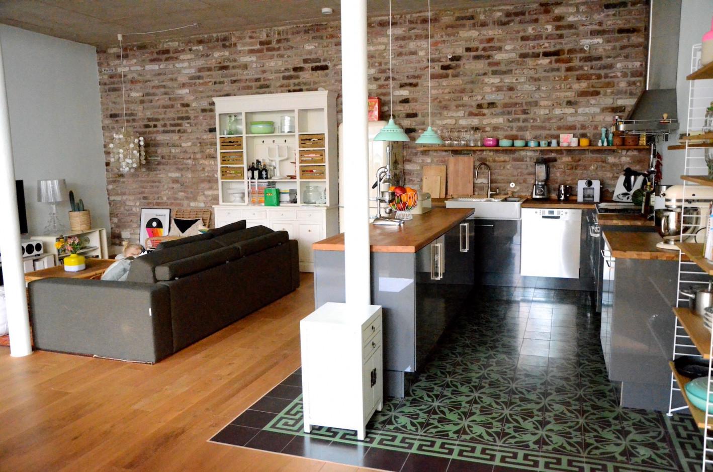Projekt Loftausbau  Wie Man Eine Offene Küche Perfekt Ins von Wohnzimmer Mit Offener Küche Bilder Bild