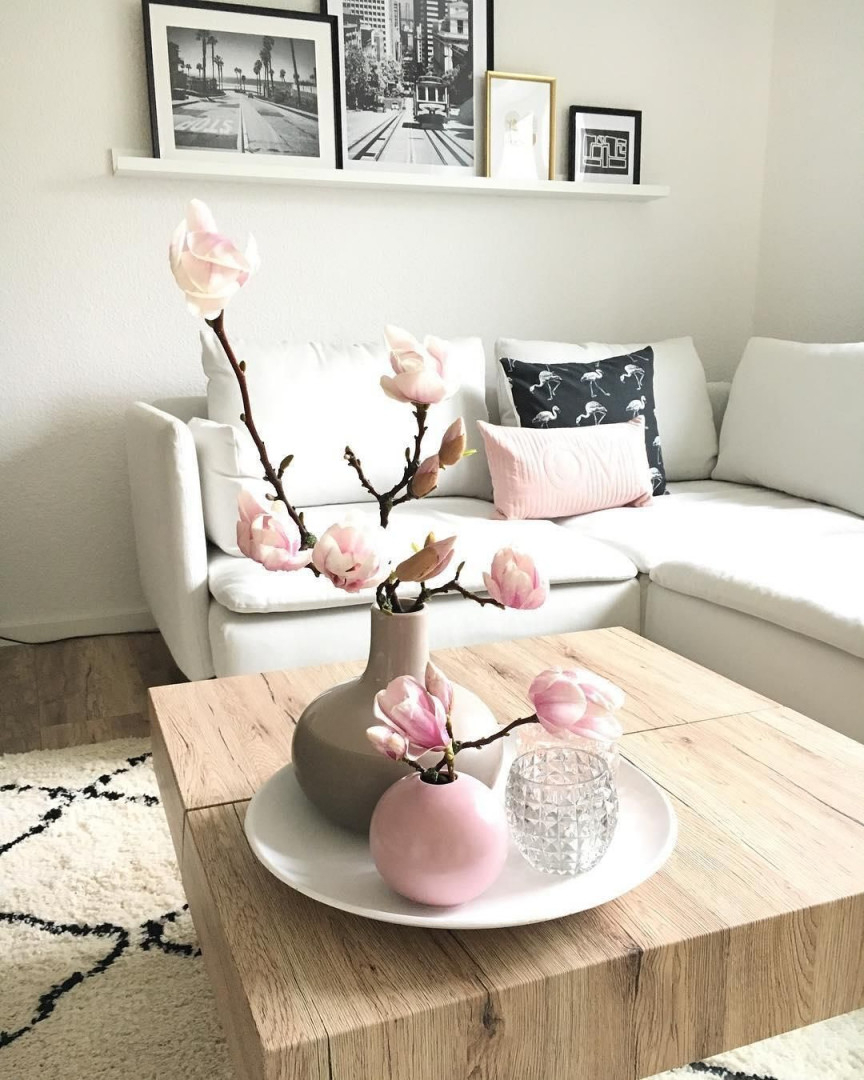 Pure Eleganz Die Vase Ball In Blassem Rosa Überzeugt Mit von Mint Deko Wohnzimmer Photo