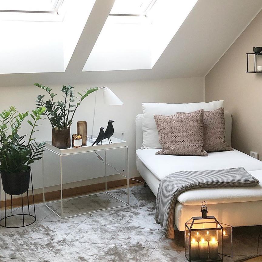 Räume Mit Dachschrägen Sind Nicht Ganz Einfach Zu Gestalten von Wohnzimmer Ideen Dachschräge Photo