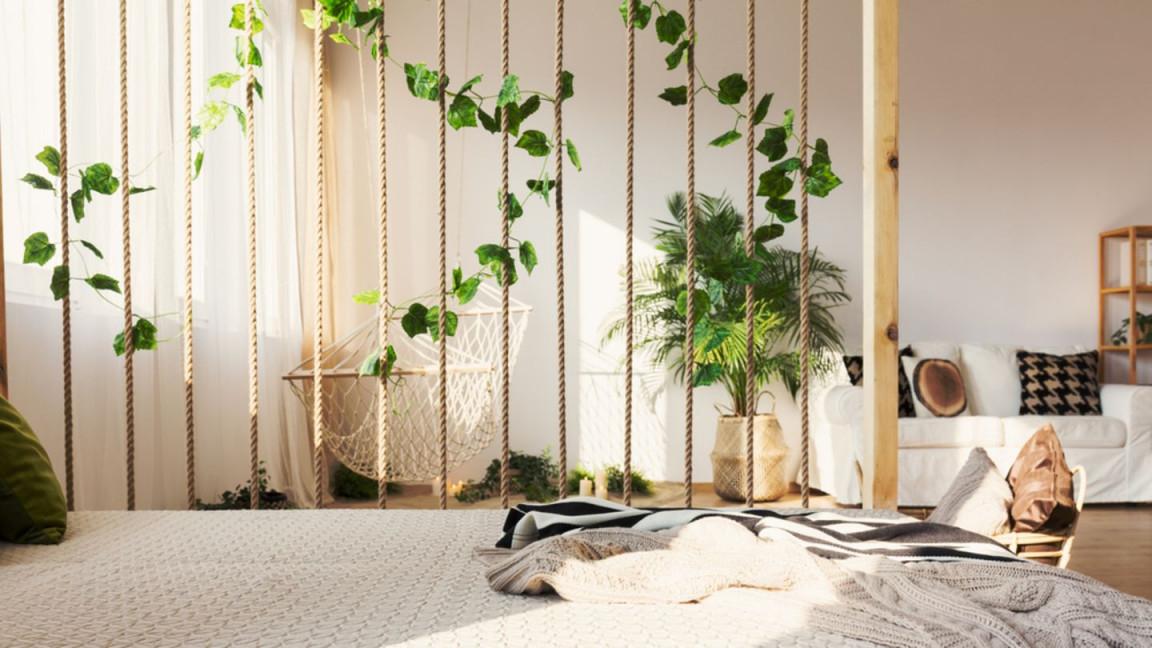 Raumteiler Ideen 9 Kreative Lösungen  Brigitte von Raumtrenner Ideen Wohnzimmer Bild