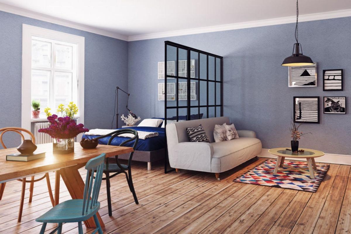 Raumteilerideen 7 Raumtrennertipps  Glamour von Raumteiler Ideen Wohnzimmer Photo