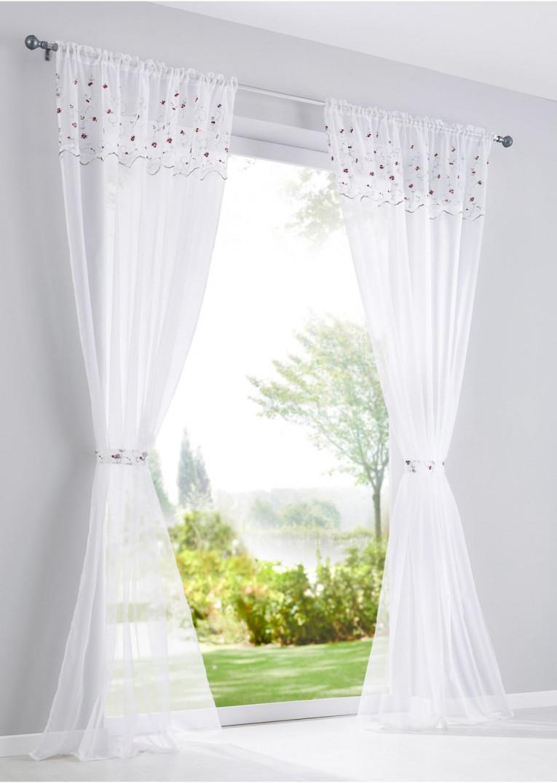 Romantische Gardinen Im Landhausstil – Caseconrad von Romantische Gardinen Wohnzimmer Bild