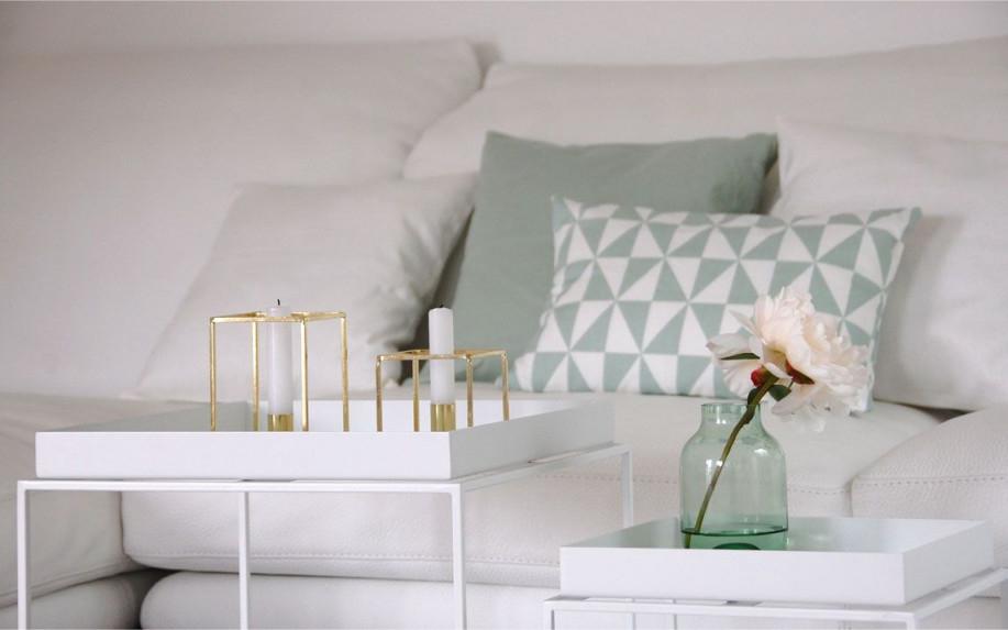 Roomilicious  Room Design  Zimmer Einrichten Wohnzimmer von Deko Mint Wohnzimmer Photo