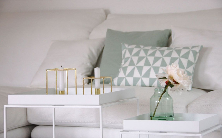 Roomilicious  Room Design  Zimmer Einrichten Wohnzimmer von Mint Deko Wohnzimmer Bild