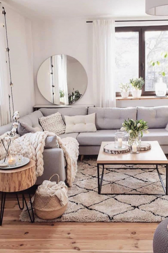 Rustic Living Rooms Usually Are A Very Great Meeting Place von Schönes Wohnzimmer Gestalten Photo