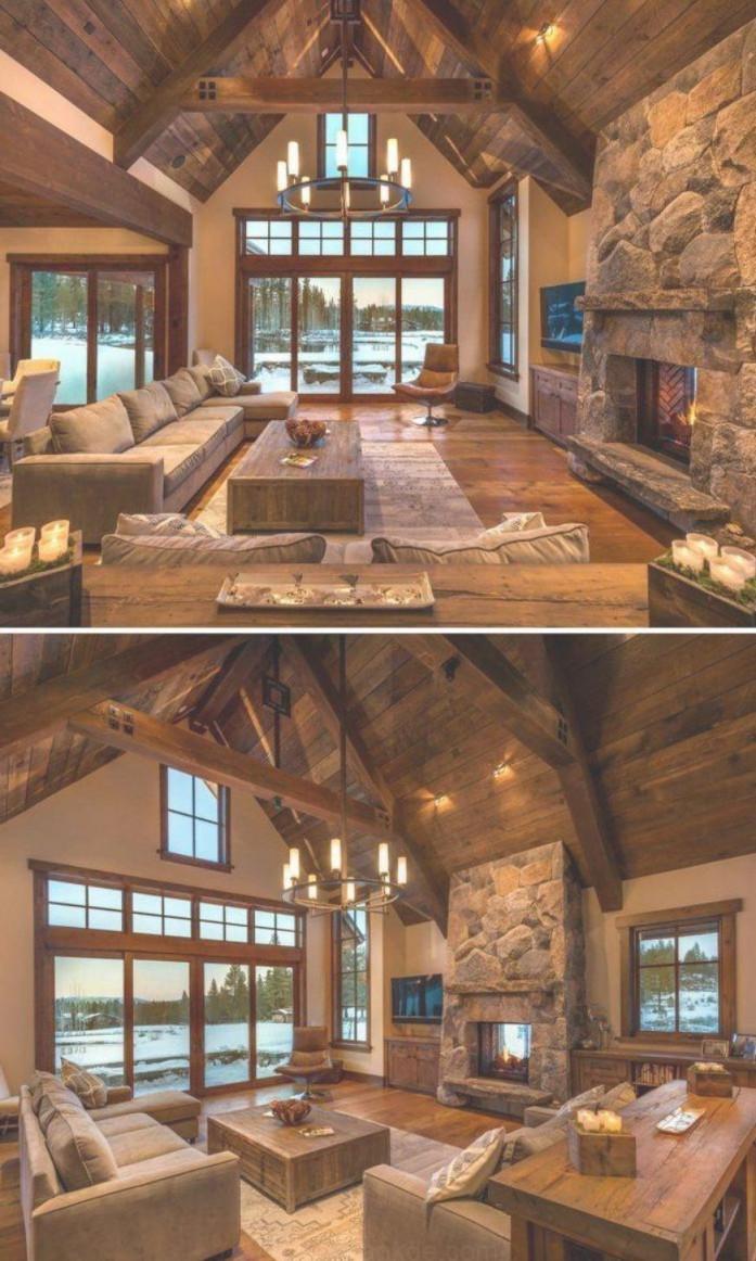Rustikale Wohnzimmerideen  Rustikale Stil Ist Ein von Wohnzimmer Ideen Rustikal Bild