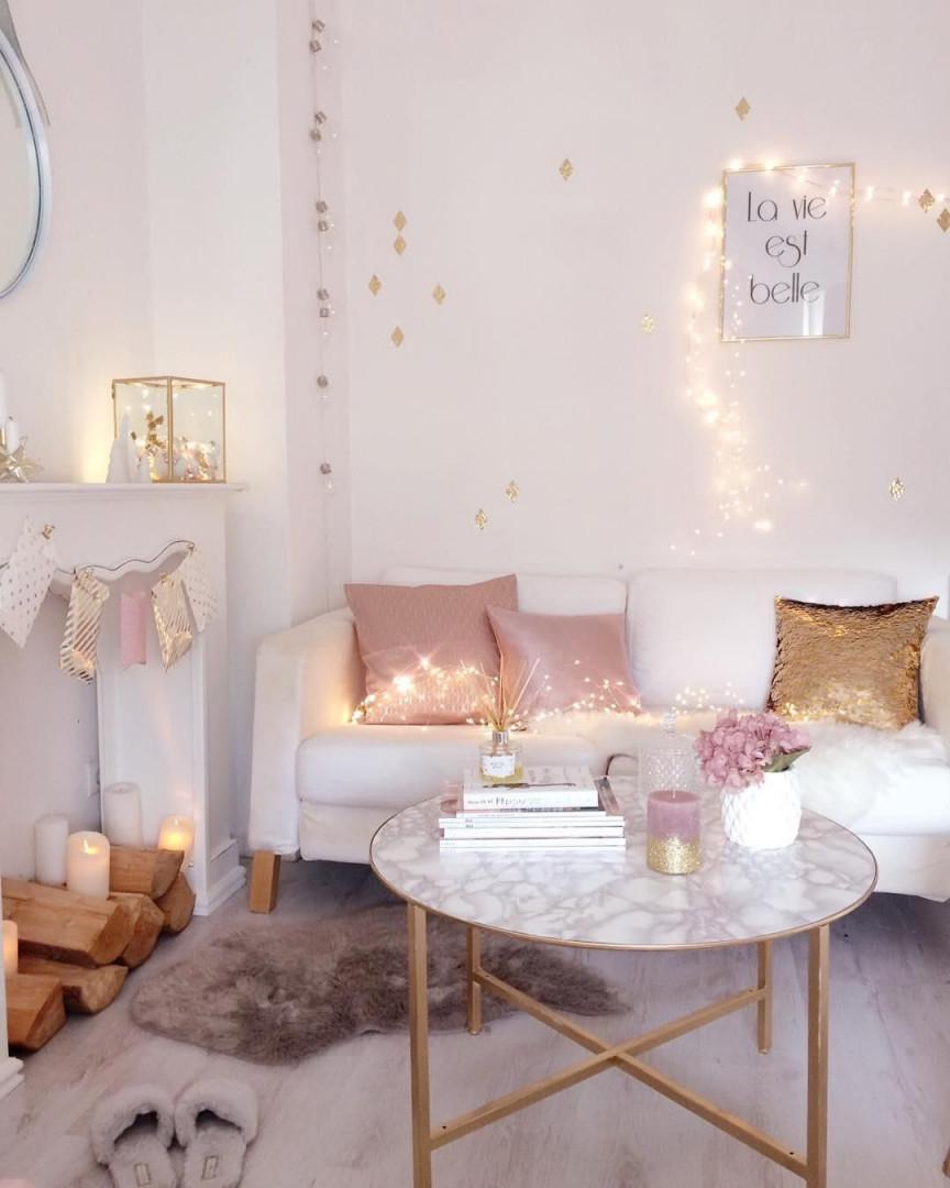 Schaffell Carry  Rosa Wohnzimmer Wohnzimmer Weiß von Accessoires Wohnzimmer Ideen Photo