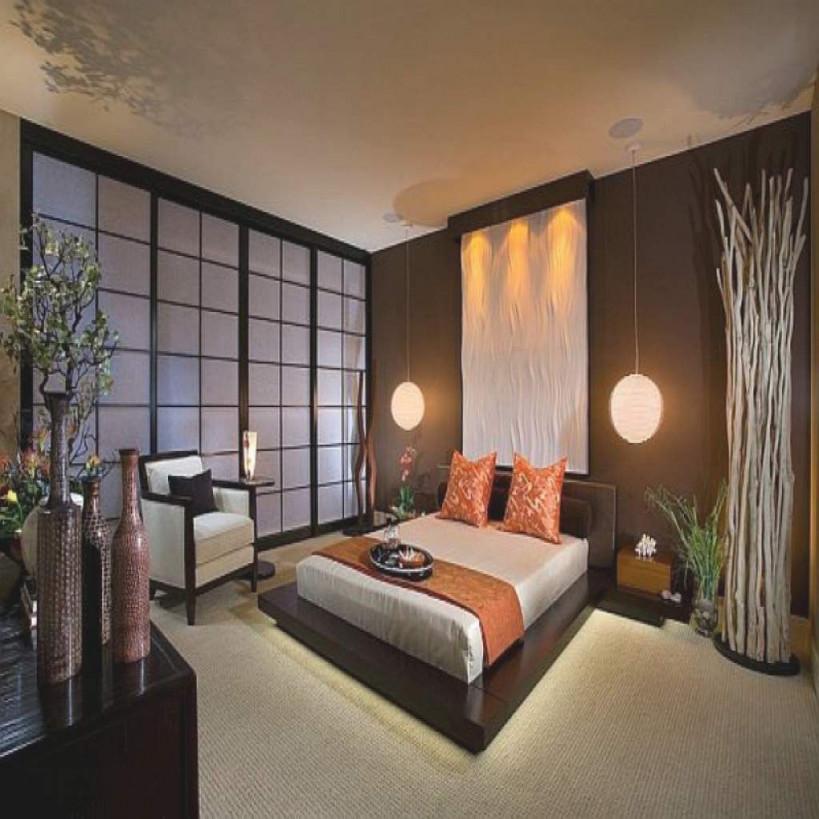Schlafzimmer Japanisch Einrichten – Vitaplaza Während Oben von Wohnzimmer Japanisch Einrichten Photo