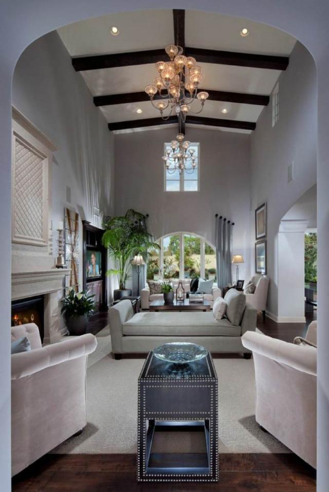 Schmales Wohnzimmer Einrichten  Tipps Für Lange Schmale Räume von Rechteckiges Wohnzimmer Einrichten Photo