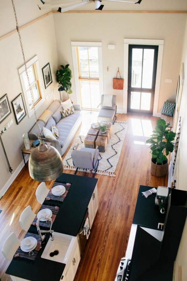 Schmales Wohnzimmer Einrichten  Tipps Für Lange Schmale Räume von Wohnzimmer Länglich Einrichten Bild