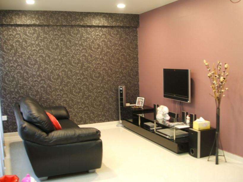 Schöne Wohnzimmer Farbe Ideen  Wandfarbe Wohnzimmer von Maler Ideen Wohnzimmer Bild
