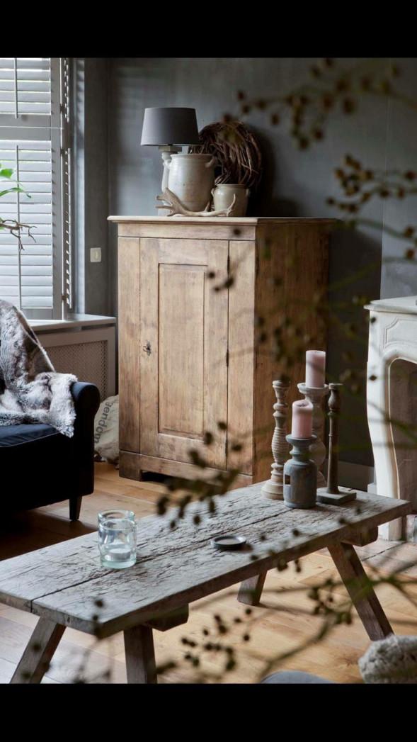 Schöner Schrank  Ina Dziggel  Dziggel Ina Kast von Wohnzimmer Mit Alten Möbeln Gestalten Bild