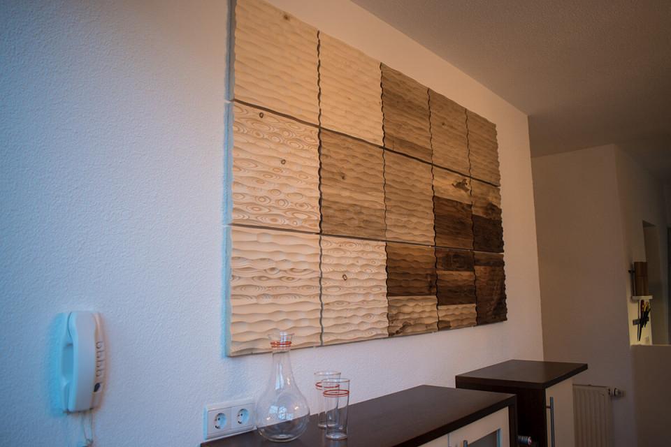 Schöner Wohnen Leicht Gemacht Mit Einer Wandverkleidung Aus von Moderne Wandverkleidung Wohnzimmer Photo