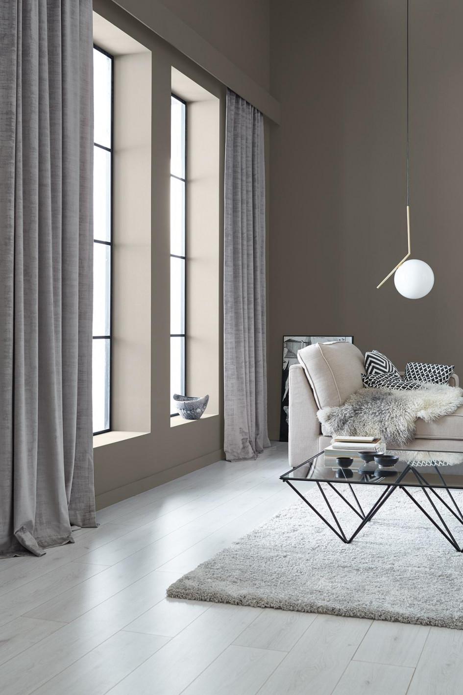 Schöner Wohnenfarbe Creme von Schöner Wohnen Gardinen Wohnzimmer Photo