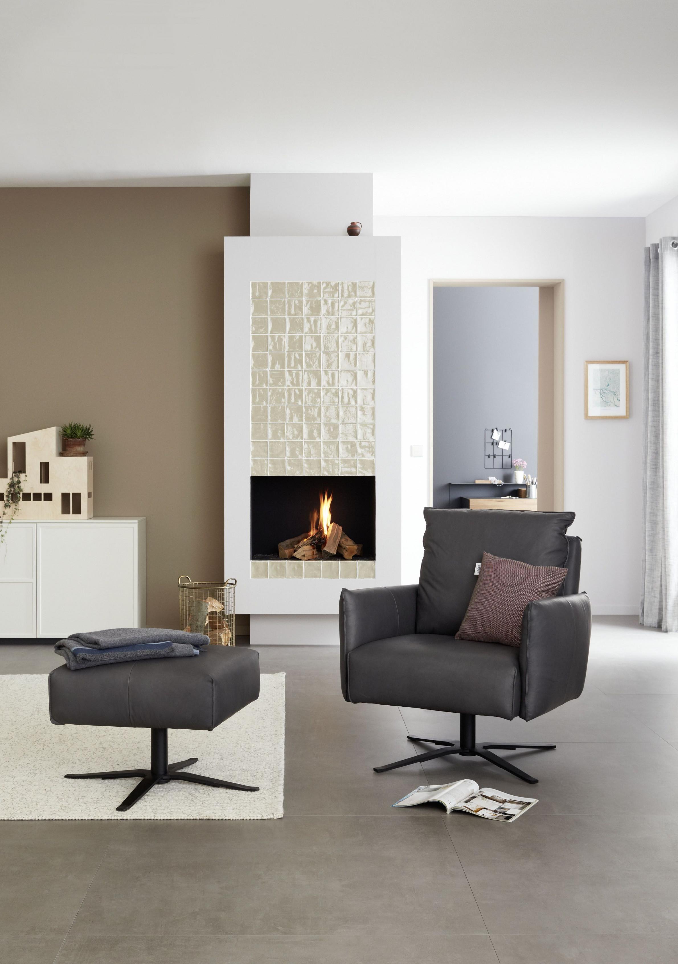 Schöner Wohnenkollektion Wohnzimmer Ideen Schwarzer Sessel von Schöner Wohnen Ideen Wohnzimmer Photo