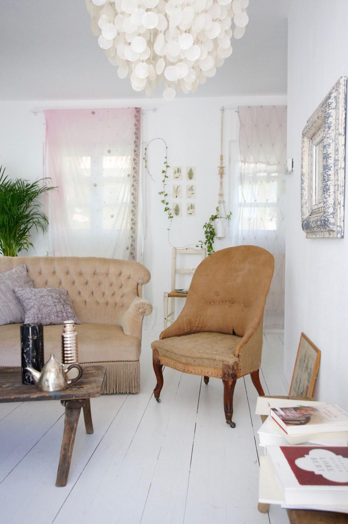 Shabby Chic Wohnzimmer Einrichten Und Dekorieren von Shabby Chic Wohnzimmer Ideen Bild