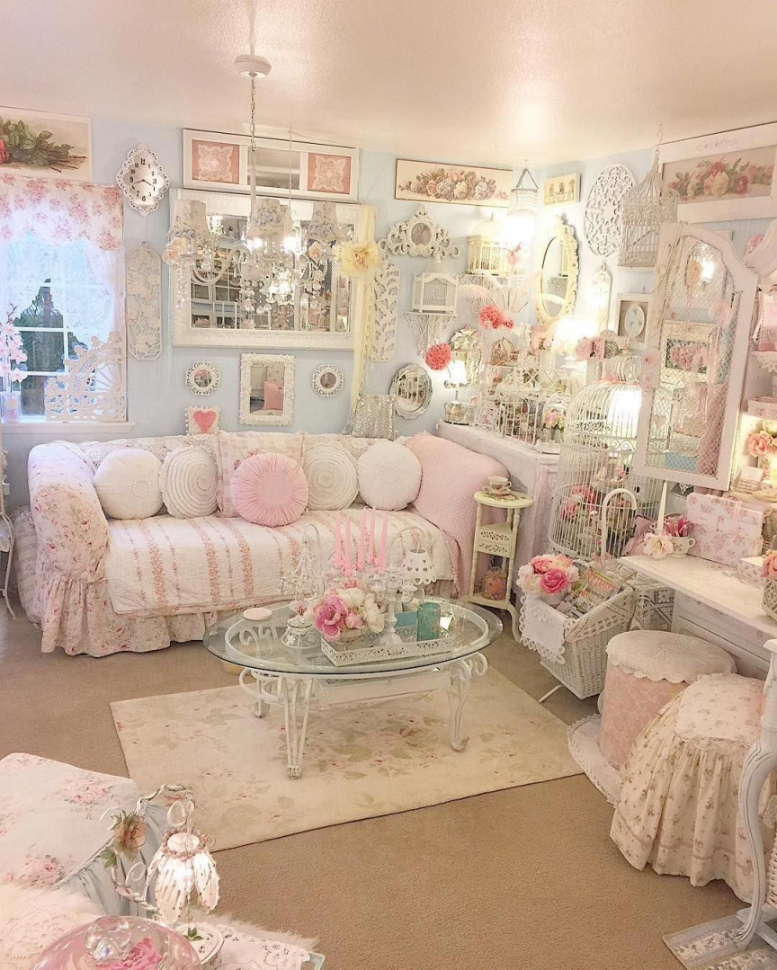Shabby To Chic Five Ways To Revamp And Modernize Your von Shabby Chic Deko Wohnzimmer Bild