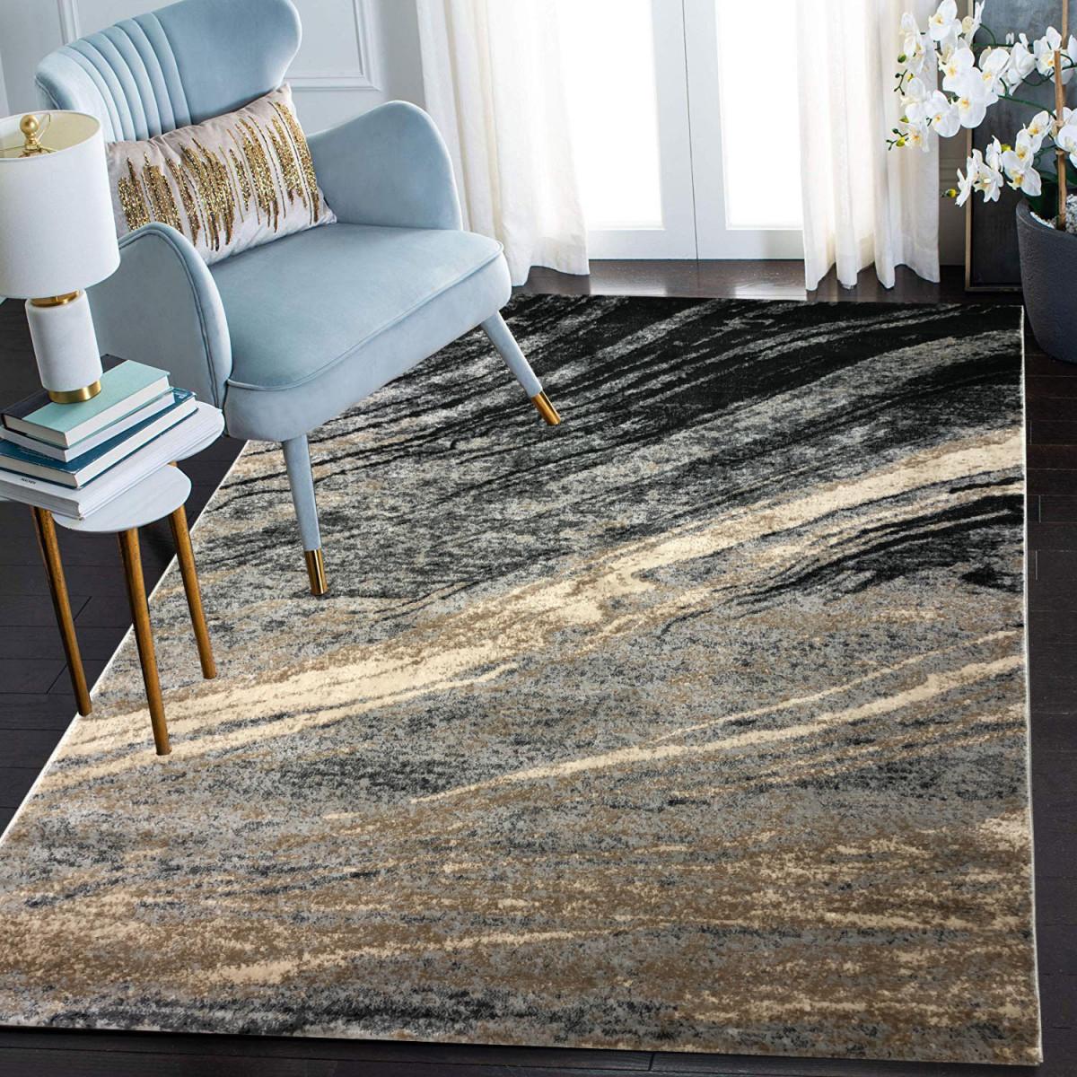 Siela Teppich Wohnzimmer Marmorkurzflor Teppich Marmor Küchenteppich  Teppiche Für Schlafzimmer von Teppich Läufer Wohnzimmer Bild