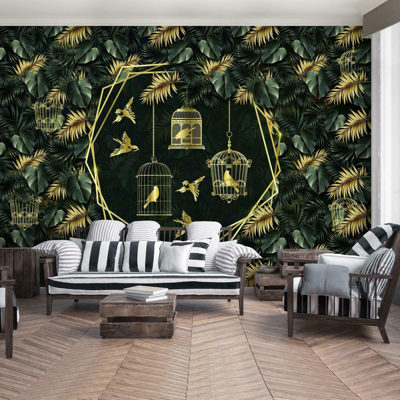 Sirpi Design Tapete 21737 Italienische Wischtechnik Grau von Italienische Tapeten Wohnzimmer Bild