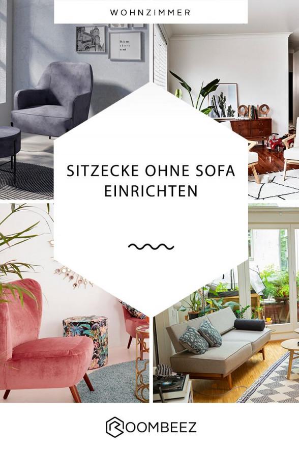 Sitzecke Ohne Sofa  5 Einrichtungsideen  Otto  Sitzecke von Sitzecke Wohnzimmer Ideen Bild