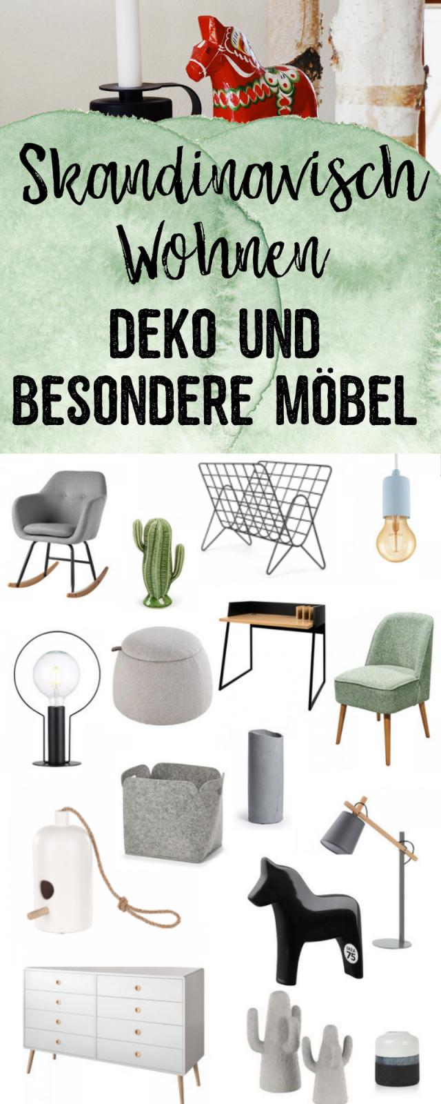 Skandinavisch Wohnen  Deko Und Besondere Möbel Für Deine von Besondere Deko Wohnzimmer Bild