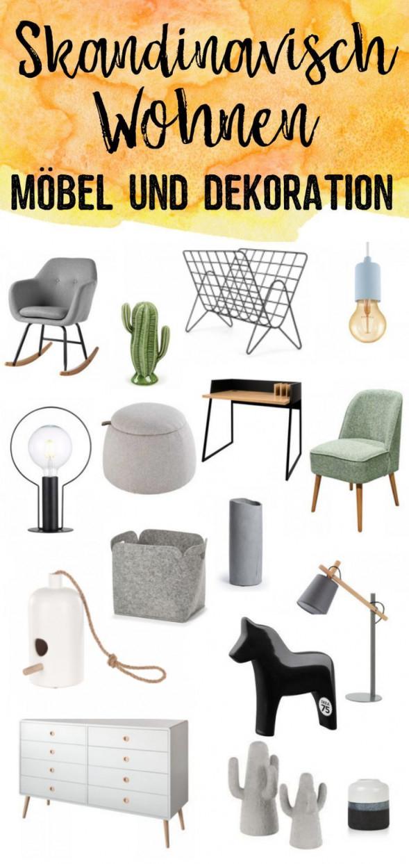 Skandinavisch Wohnen  Die Schönste Deko Und Besondere Möbel von Besondere Deko Wohnzimmer Bild