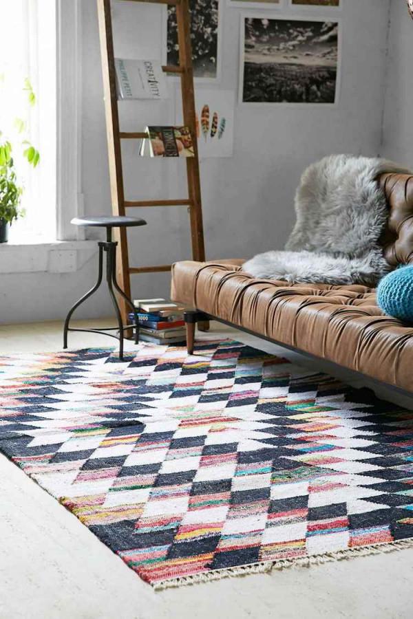 Skandinavischer Teppich Modern Für Jeden Bereich Der Wohnung von Teppich Wohnzimmer Skandinavisch Bild