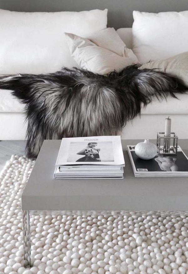 Skandinavischer Teppich Modern Für Jeden Bereich Der Wohnung von Teppich Wohnzimmer Skandinavisch Photo