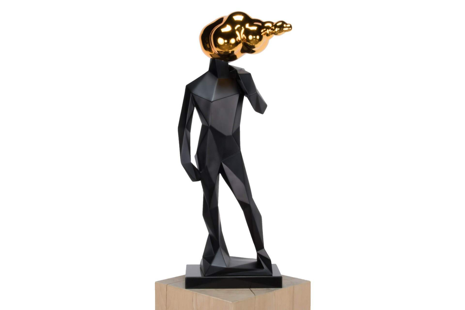 Skulpturen Wohnzimmer Luxus Kunststein Skulptur Head In The von Moderne Skulpturen Für Wohnzimmer Photo