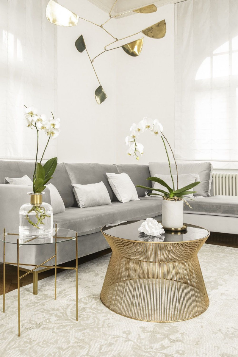 So Funktioniert Der Look Soft Glam Dieser Look Ist Der von Wohnzimmer Deko Ideen Gold Photo