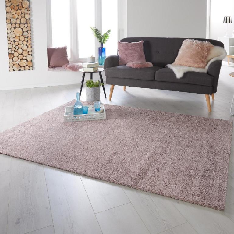 Softteppich Villeple (160X230 Rosa) von Rosa Teppich Wohnzimmer Photo