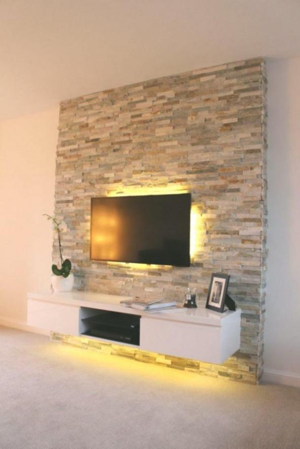 Spektakuläre Innere Wände Wände Wohnzimmer In 2020 von Wohnzimmer Fernsehwand Ideen Bild