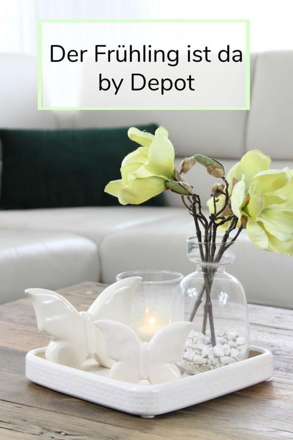 Spring Is Heredepot  Deko Für Wohnzimmer Home Deco von Deko Frühling Wohnzimmer Bild