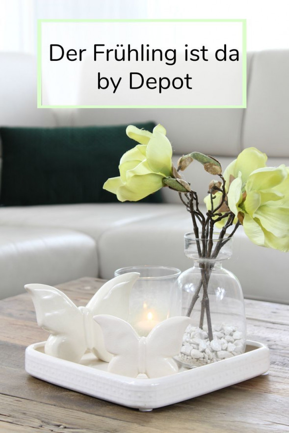 Spring Is Heredepot  Deko Für Wohnzimmer Home Deco von Frühling Deko Wohnzimmer Photo