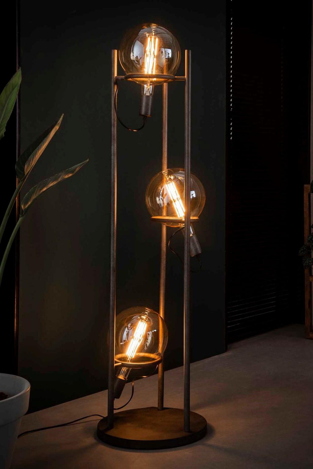 Stehlampe Saturn Xl  Stehlampe Wohnzimmer Stehlampe Coole von Wohnzimmer Lampe Industriedesign Photo