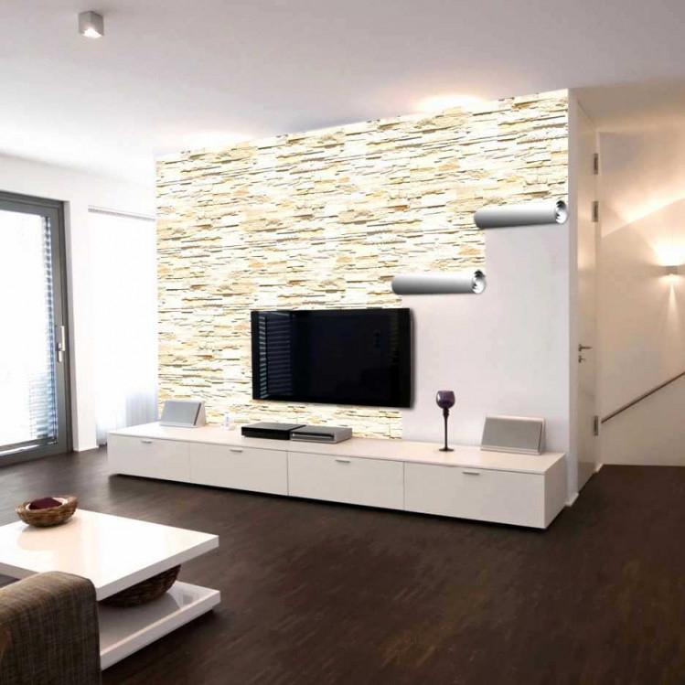 Steinwand Wohnzimmer Grau Elegant Das Beste Von Wohnzimmer von Wohnzimmer Mit Steinwand Gestalten Photo