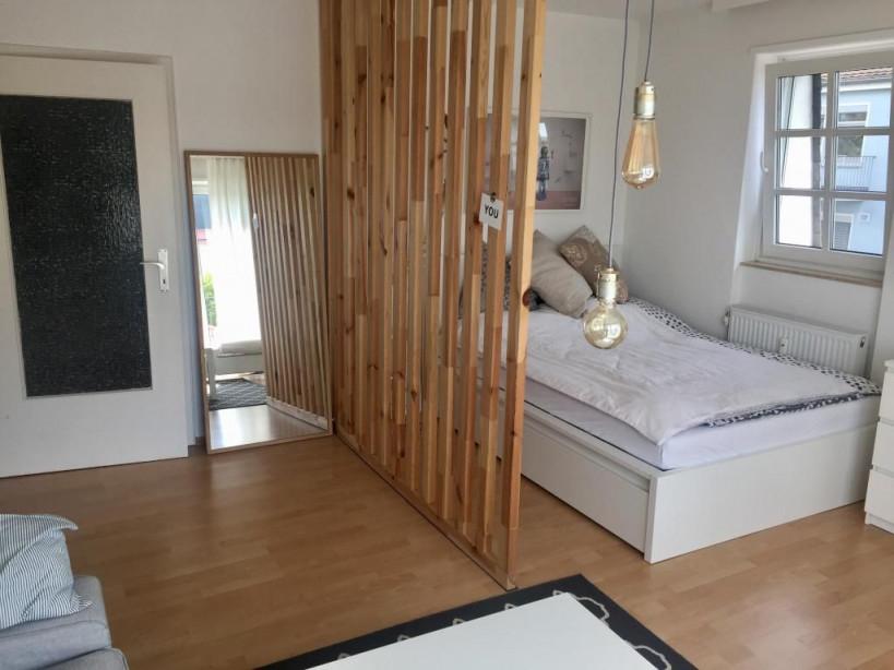 Stilvoller Raumtrenner Aus Holzlatten Diy Raumtrenner von Raumtrenner Ideen Wohnzimmer Photo